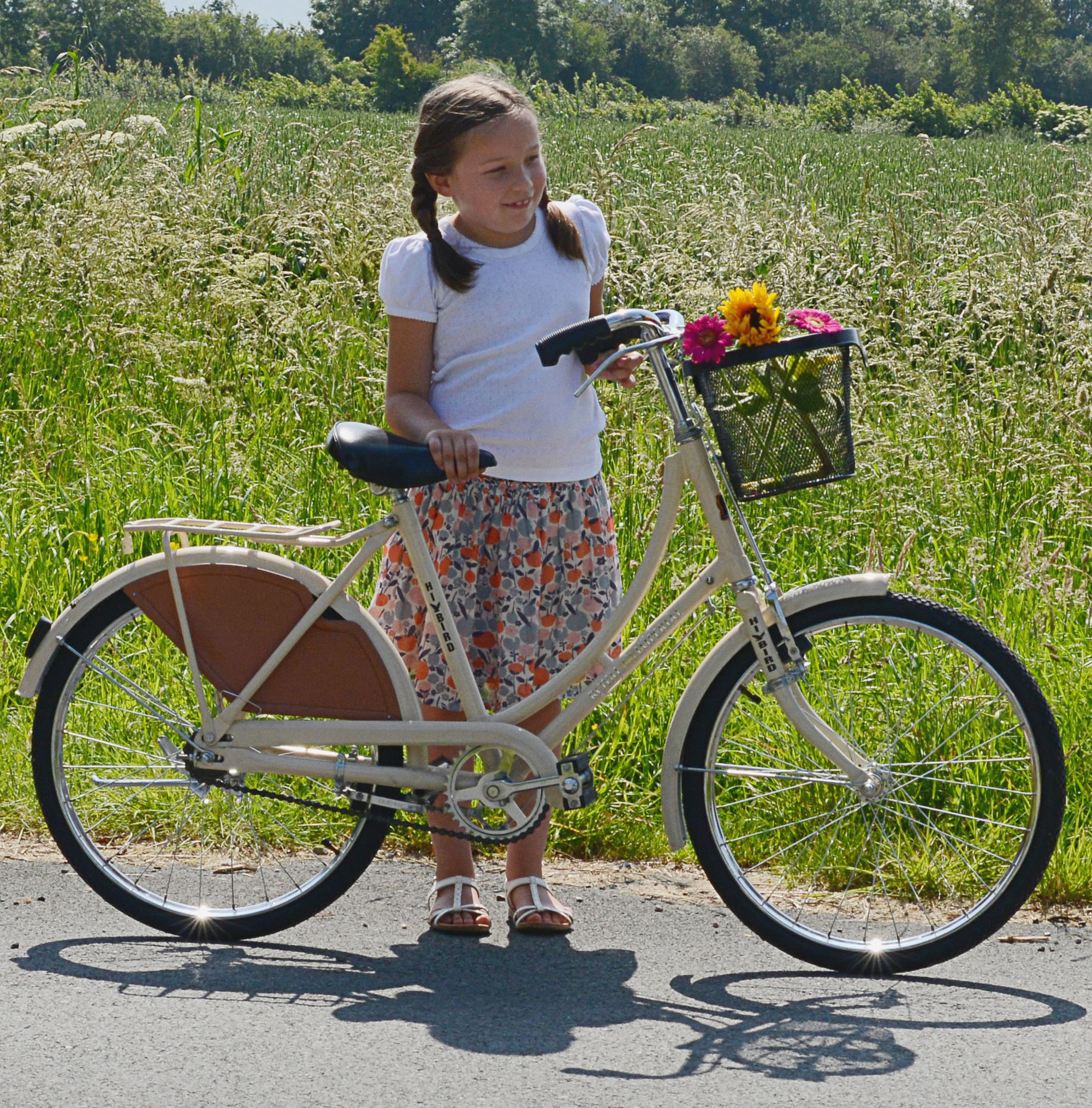 Pink Old Fashioned Bike